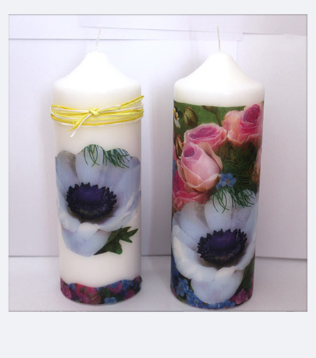 DIY Home Decor - Decorating Candles with Pebaro