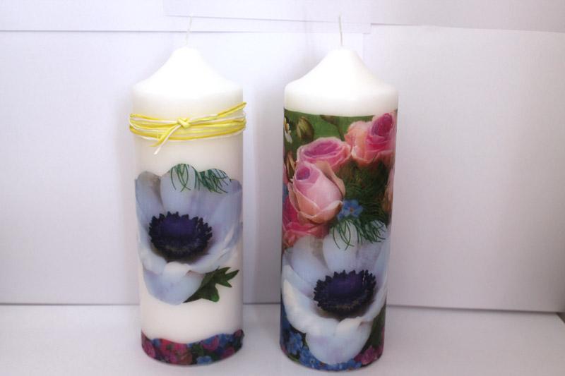 DIY individual candles