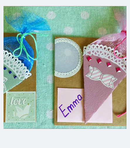 Crafting Cards for school enrolment