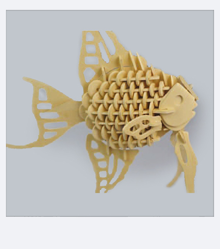 Assembly instructions for our fretwork template Fish