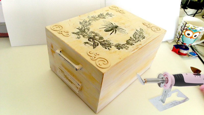 Individual Wooden Boxes - DIY Home Decorations with Pebaro