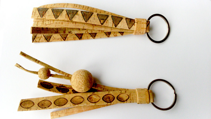 DIY Gift Ideas - Pebaro`s Cork Key Rings