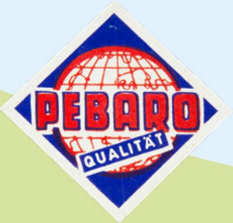 Pebaro Logo until 1980