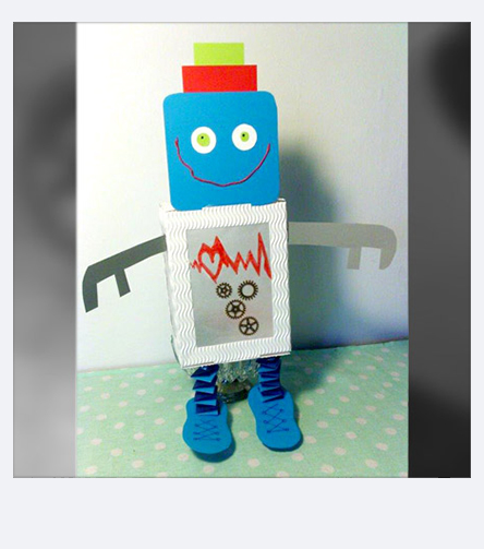 Autumn Crafting with Pebaro - Robot Lantern
