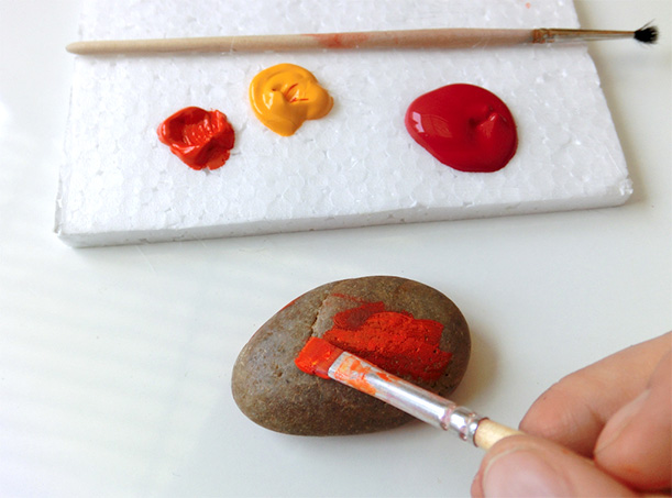 DIY Gift Ideas - Painting Stones