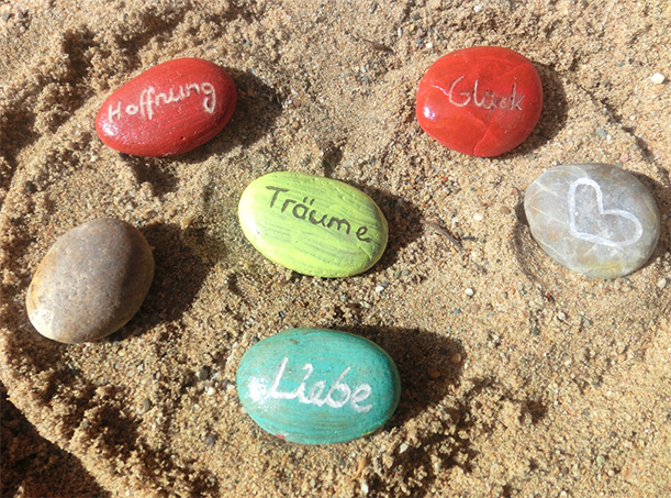 DIY Engraved Stones