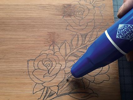 Selbst gestaltete Sandalen nach einer Idee von Pebaro