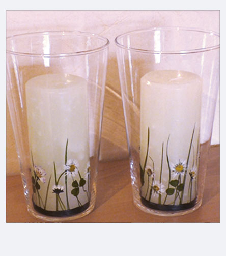 Spring Crafting with Pebaro - Paint easter candles